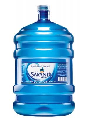 Água Sarandi 20 l